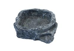 Terraced dish grey medium