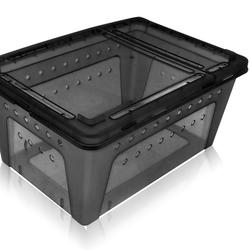Nordic Brederbox medium sort / transparent 26x17,5x11,5cm