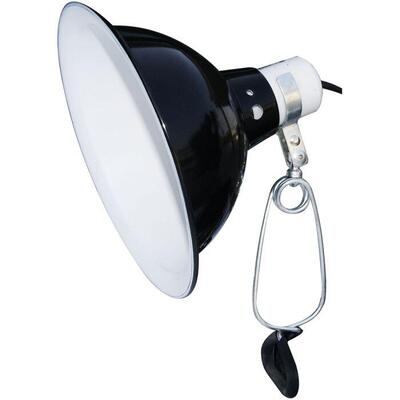 Dome lampe 25cm med clamp